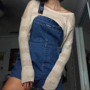 Slouchy Beige Sweater